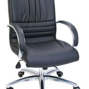 medium height black chairs