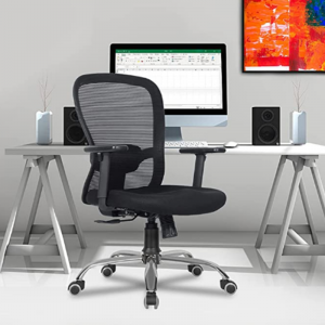 Crystal Mid-Back Office Chair