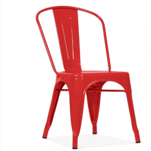 Red Cafeteria Chair
